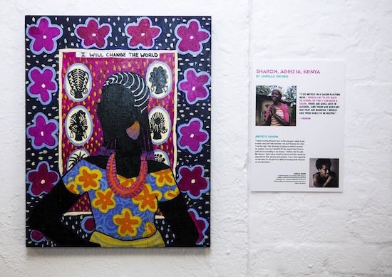 Work by Jamilla Okubo. Courtesy of Nubian Hueman.
