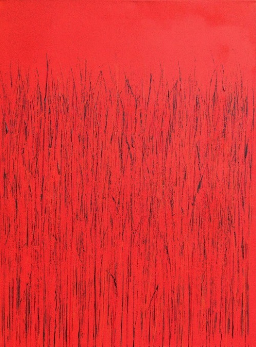 Red by Mary D. Ott. Photo courtesy of Touchstone Gallery.