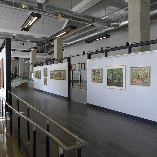 """The DC Commission on the Arts & Humanities will exhibit works by recipients of the Fiscal Year 2016 Artist Fellowship Grant.  200 I Street gallery photo by Phil Hutinet for East City Art."""
