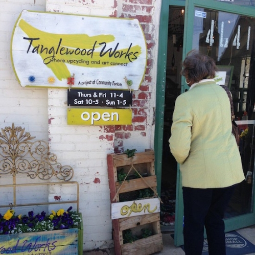 Tanglewood Works celebrates their labors this weekend with a grand opening of their new maker space in Mount Rainier, MD.  Image courtesy Tanglewood Works.