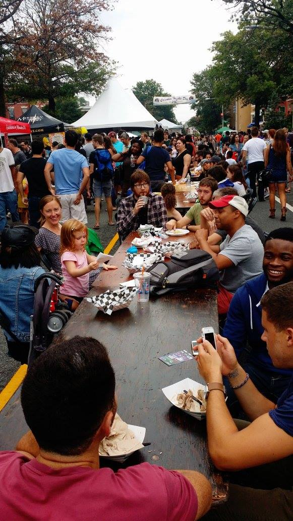 A scene from the 10th Annual Columbia Heights Day. Photo credit: Columbia Heights Initiative