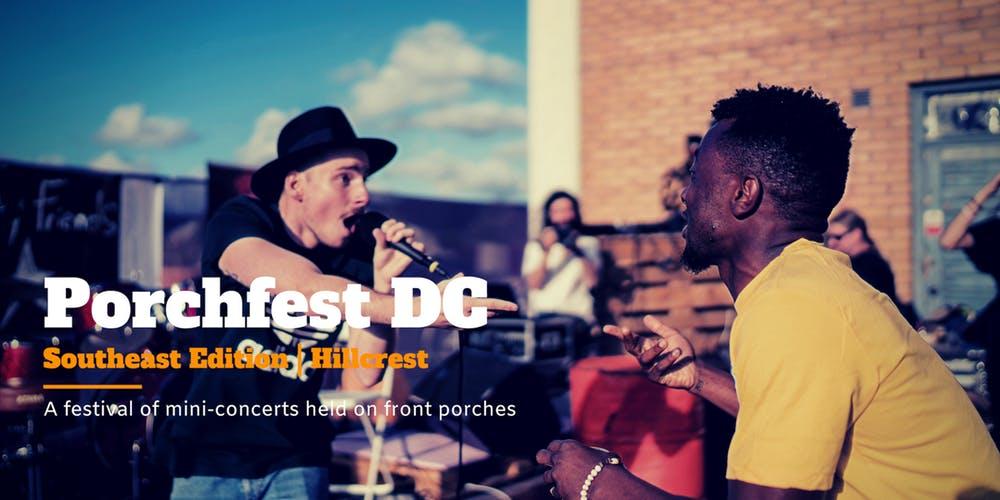 Porchfest Hillcrest DC